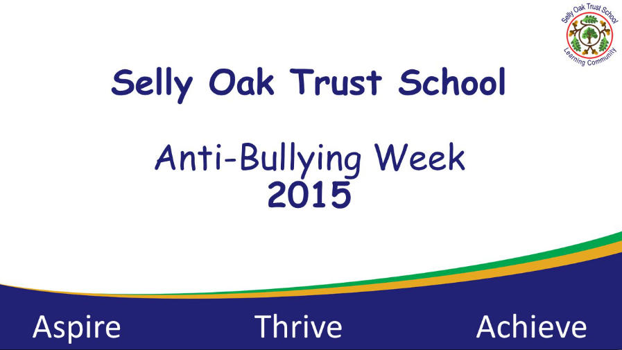 View Anti Bullying Week