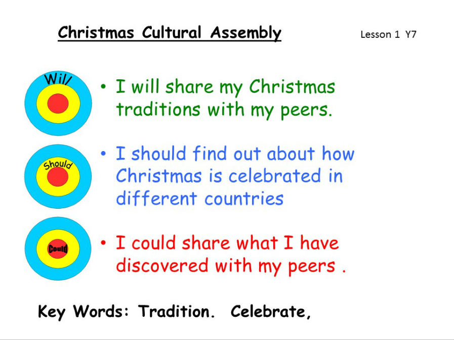 View Cultural Christmas Assembly
